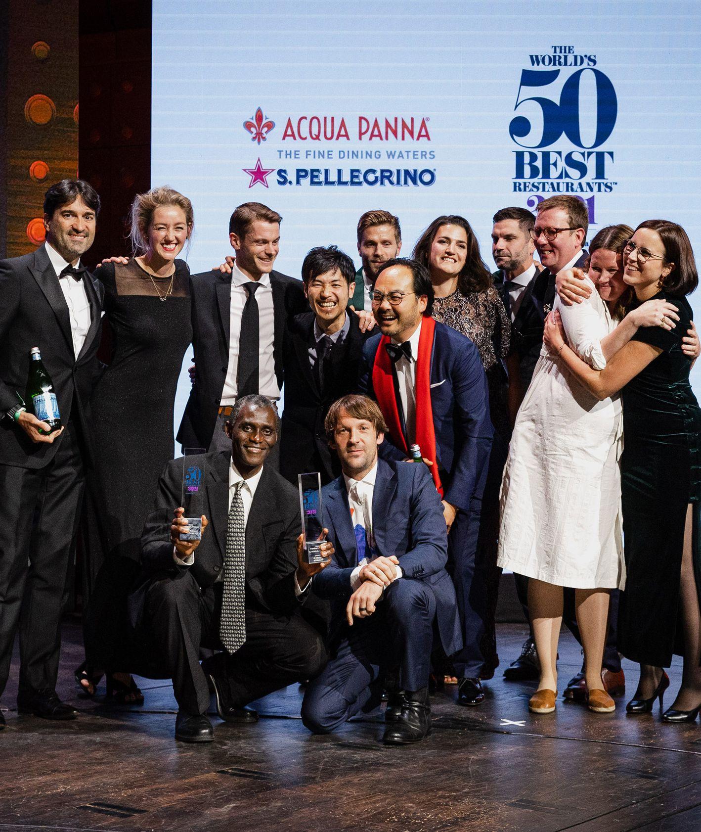 Wręczenie nagród dla najlepszych restauracji na świecie - Noma, René Redzepi (fot. materiały prasowe)