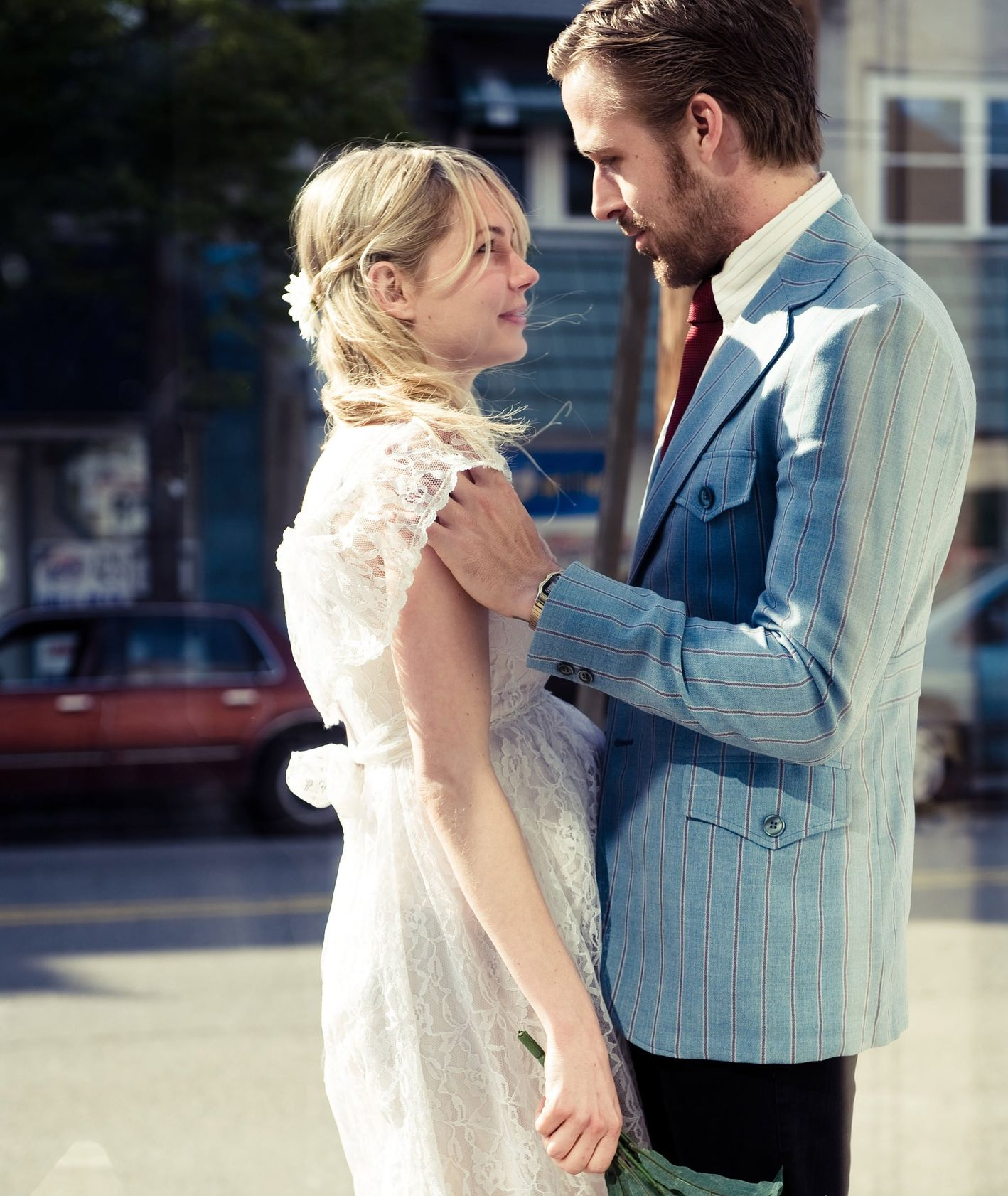 "Ryan Gosling i Michele Williams w filmie ""Blue Valentine"" (fot. kadr z filmu)"