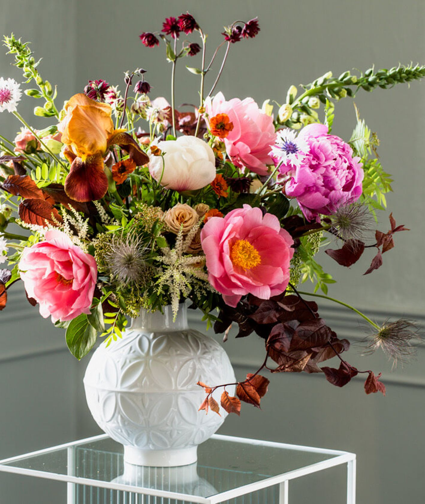 Bukiet kwiatów wiosennych