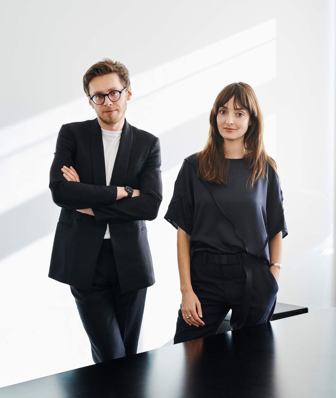 Portret projektantów Any Relavo i Gerhardta Kellermann