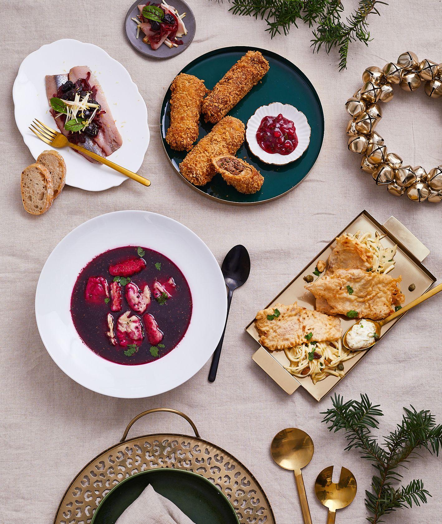 Świąteczene klasyczne dania z twistem. Farma Bii (fot. Maciek Niemojewski)