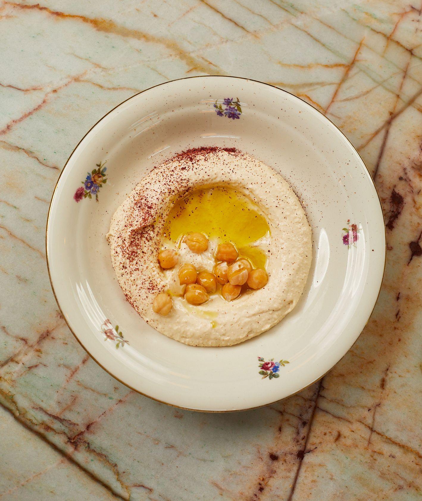 Przepis – hummus, jak zrobić hummus, prosty przepis na hummus, kuchnia izraelska (fot. Maciej Niemojewski)