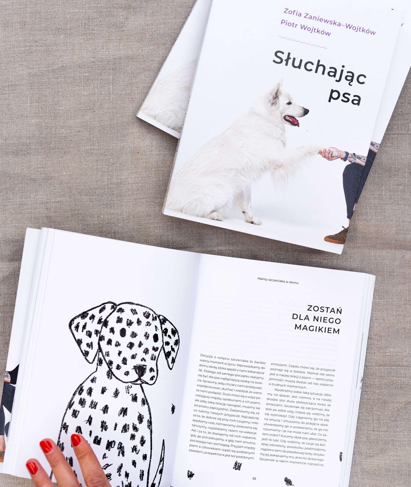 Książka o zachowaniach psa
