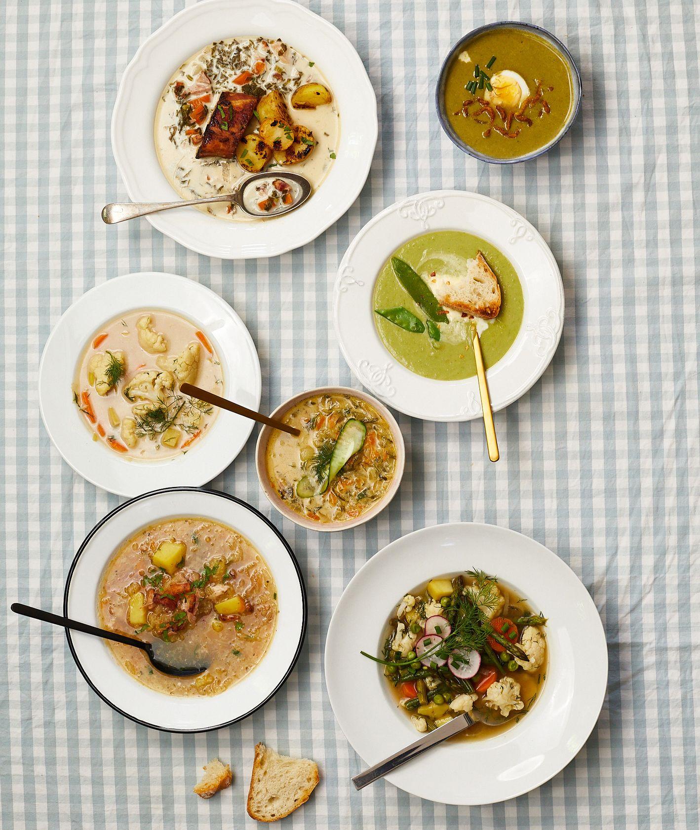 7 lekkich zup na wiosnę i lato (fot. Maciek Niemojewski)