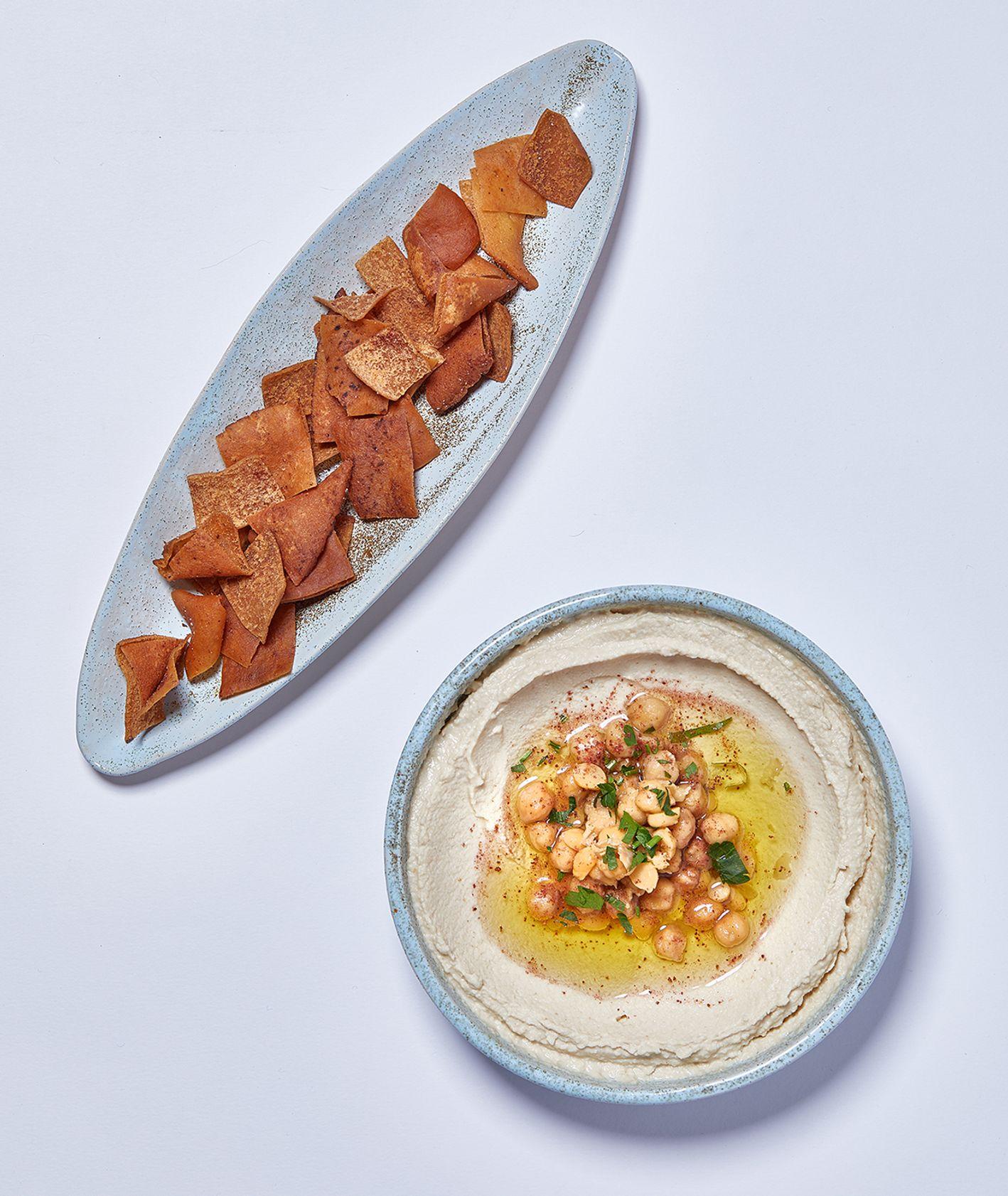 Humus w wykonaniu restauracji Tahina (fot. Maciek Niemojewski)