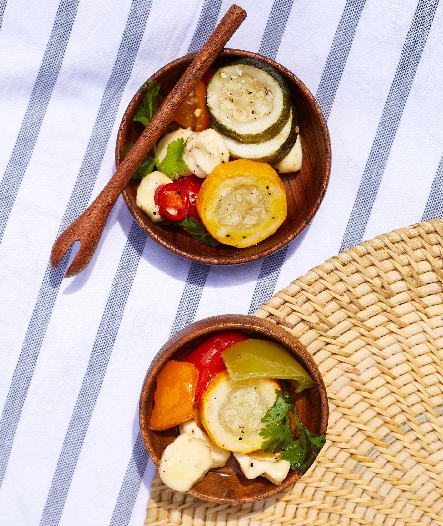 Marynowane warzywa – przepis