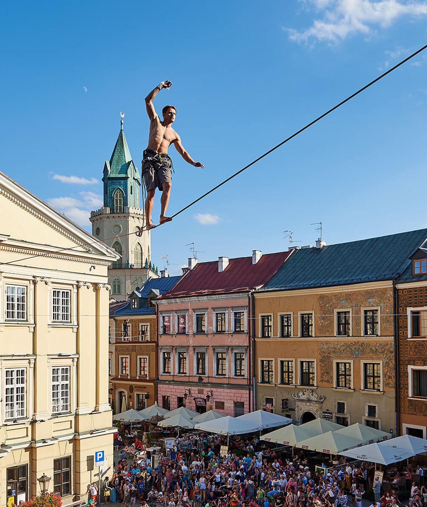 Carnaval Sztukmistrzów w Lublinie. (fot. Kancelaria Prezydenta - Marketing Miasta Lublin)