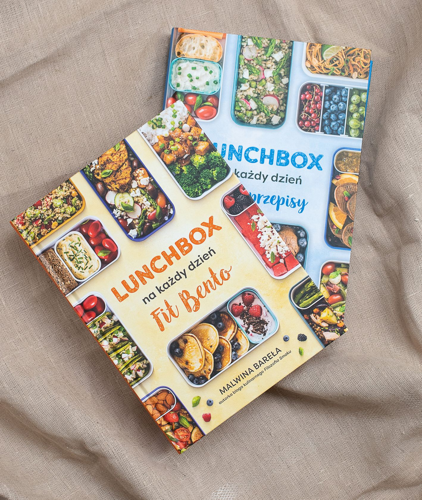 Seria książek Lunchbox na każdy dzień (fot. Paulina Czyżewska)