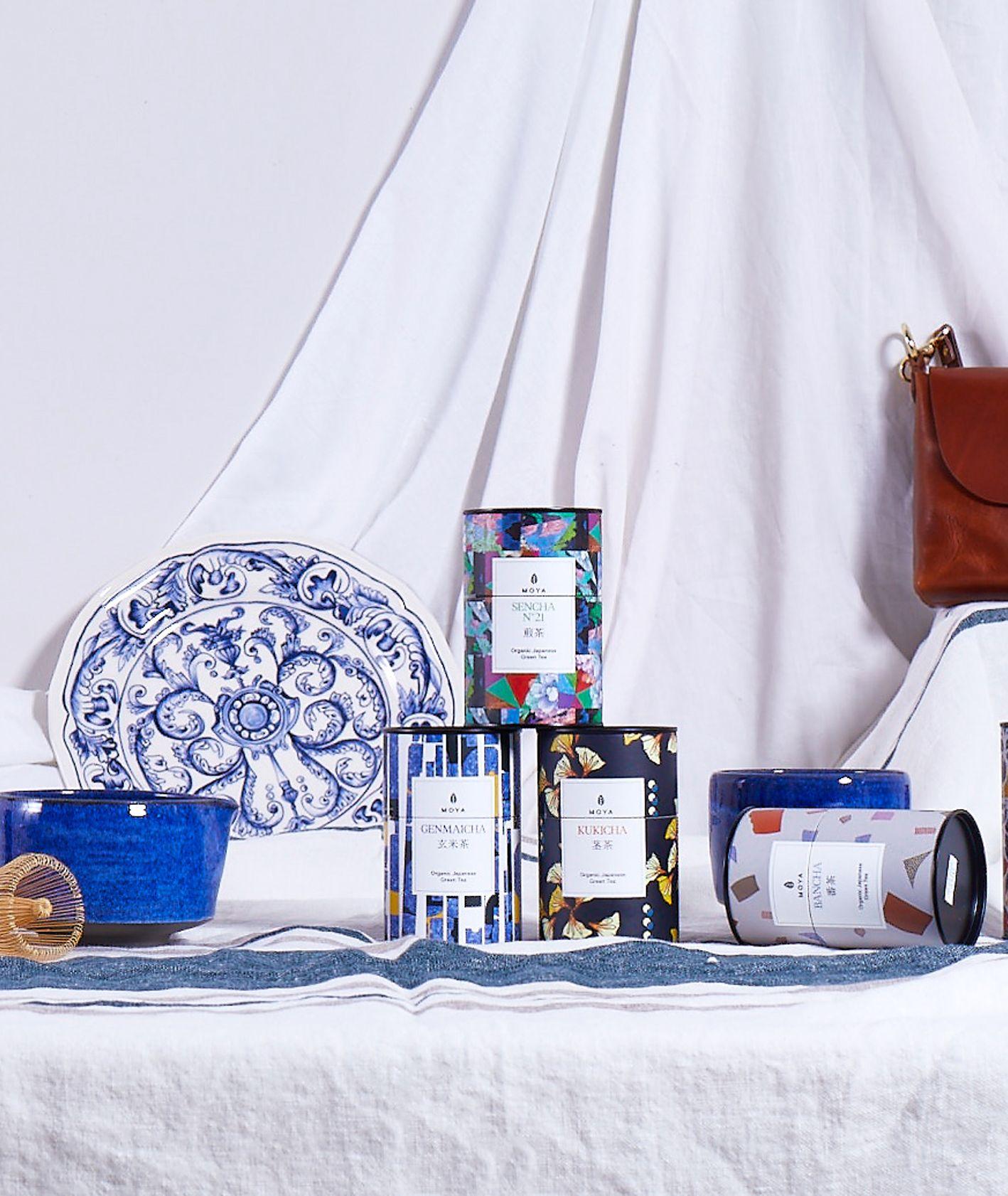 Wygrani w kategorii Z warsztatu w konkursie KUKBUK Poleca, od lewej Moya Matcha, Ceramika Nakomiady, skórzane przedmioty John & Mary