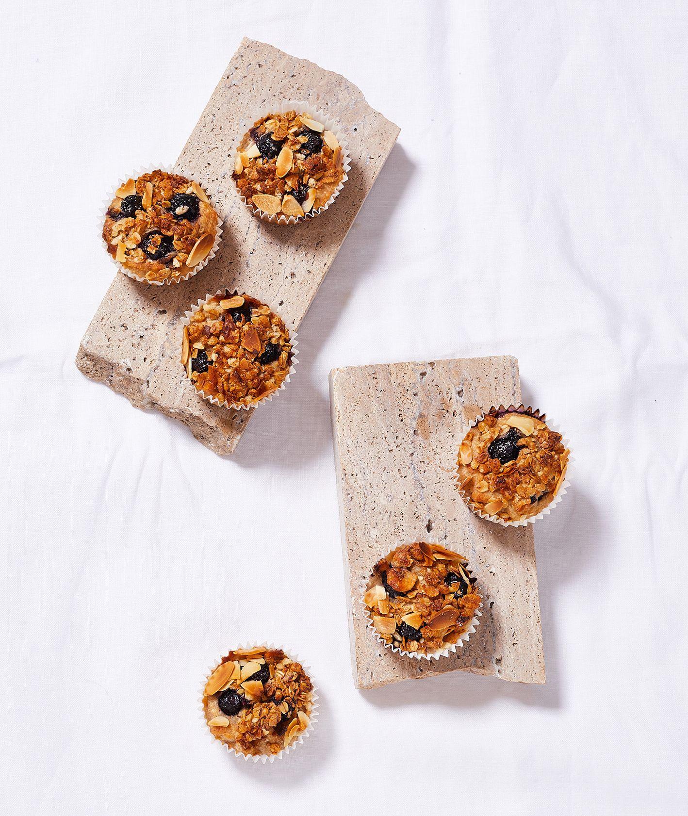 Wege śniadania słodkie. Muffinki z musli i orzechami (fot. Maciek Niemojewski)