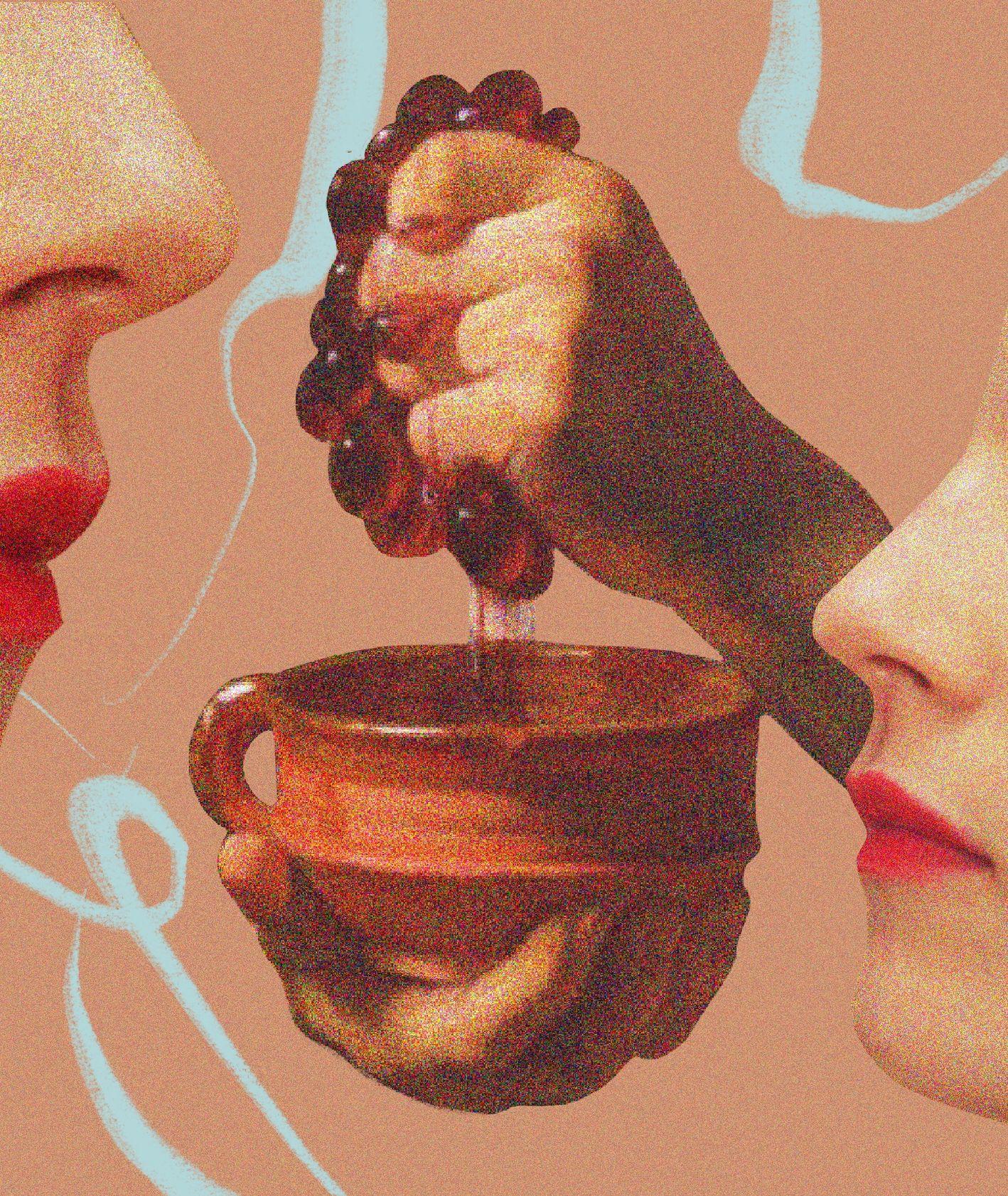 Zmysł węchu i smak (il. Martyna Cybuch)