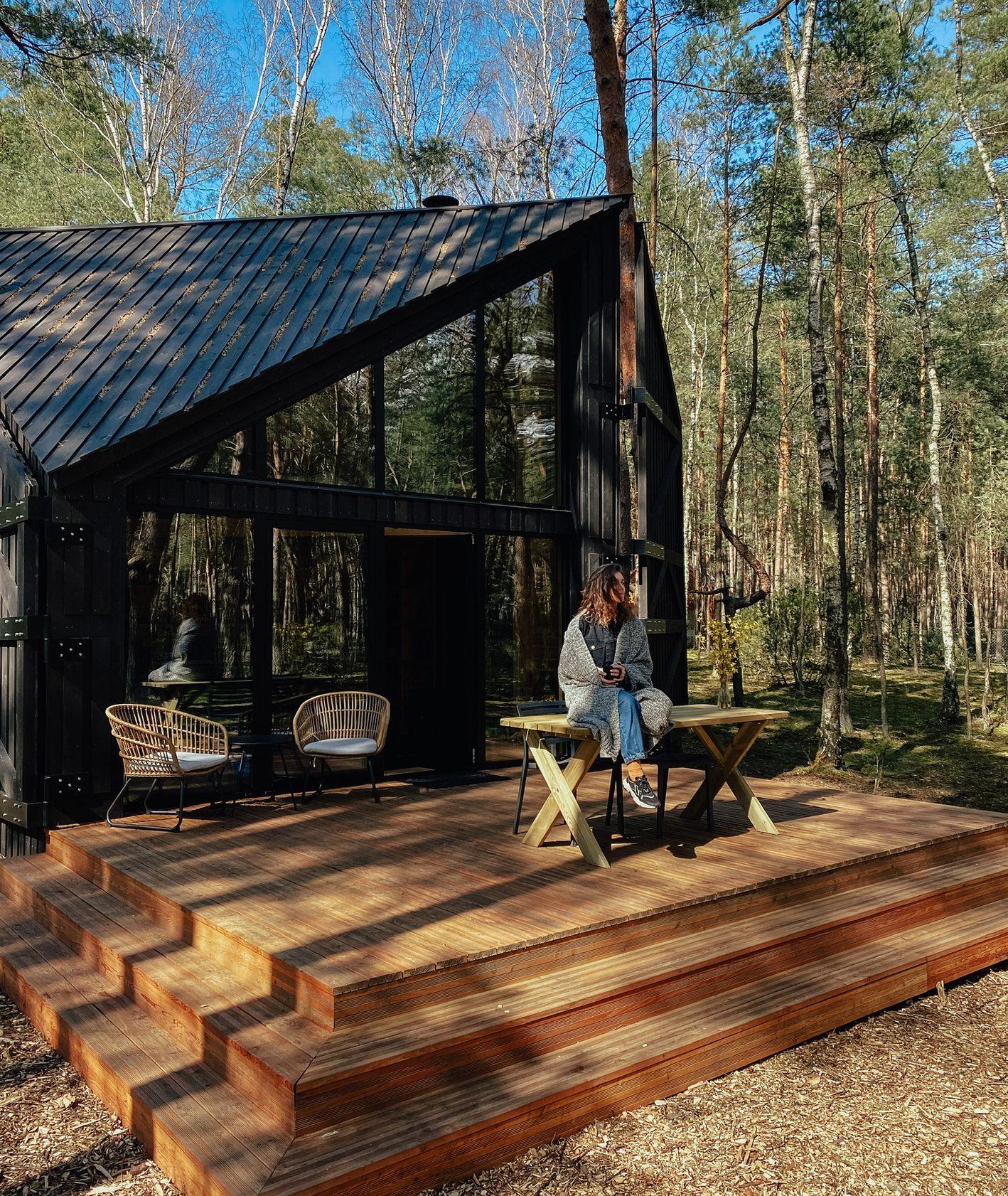 Wypoczynek na Mazowszu, ForRest Cabin, urlop w lesie, miejsce na urlop (fot. Paweł Fabianek