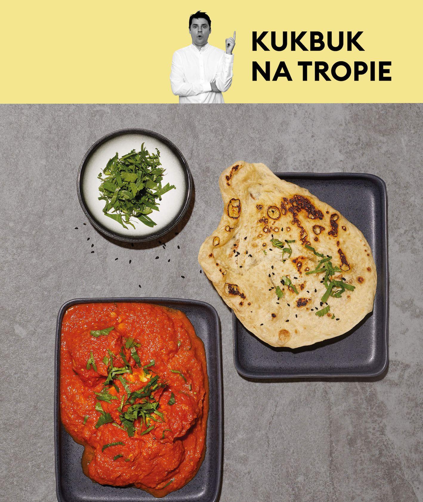 Przepis Tomka Zielke na butter chicken - indyjskiego kurczaka w sosie pomidorowym (fot. Maciek Niemojewski)