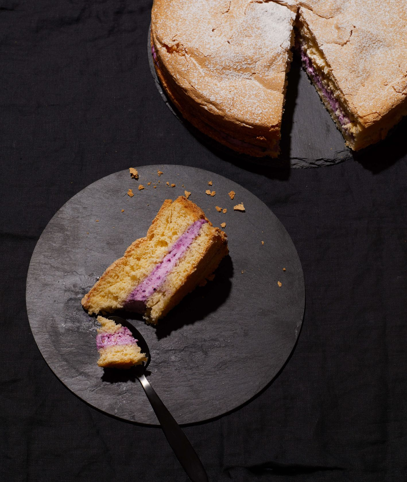 tomek na tropie biszkoptu, tort biszkopt z kremem