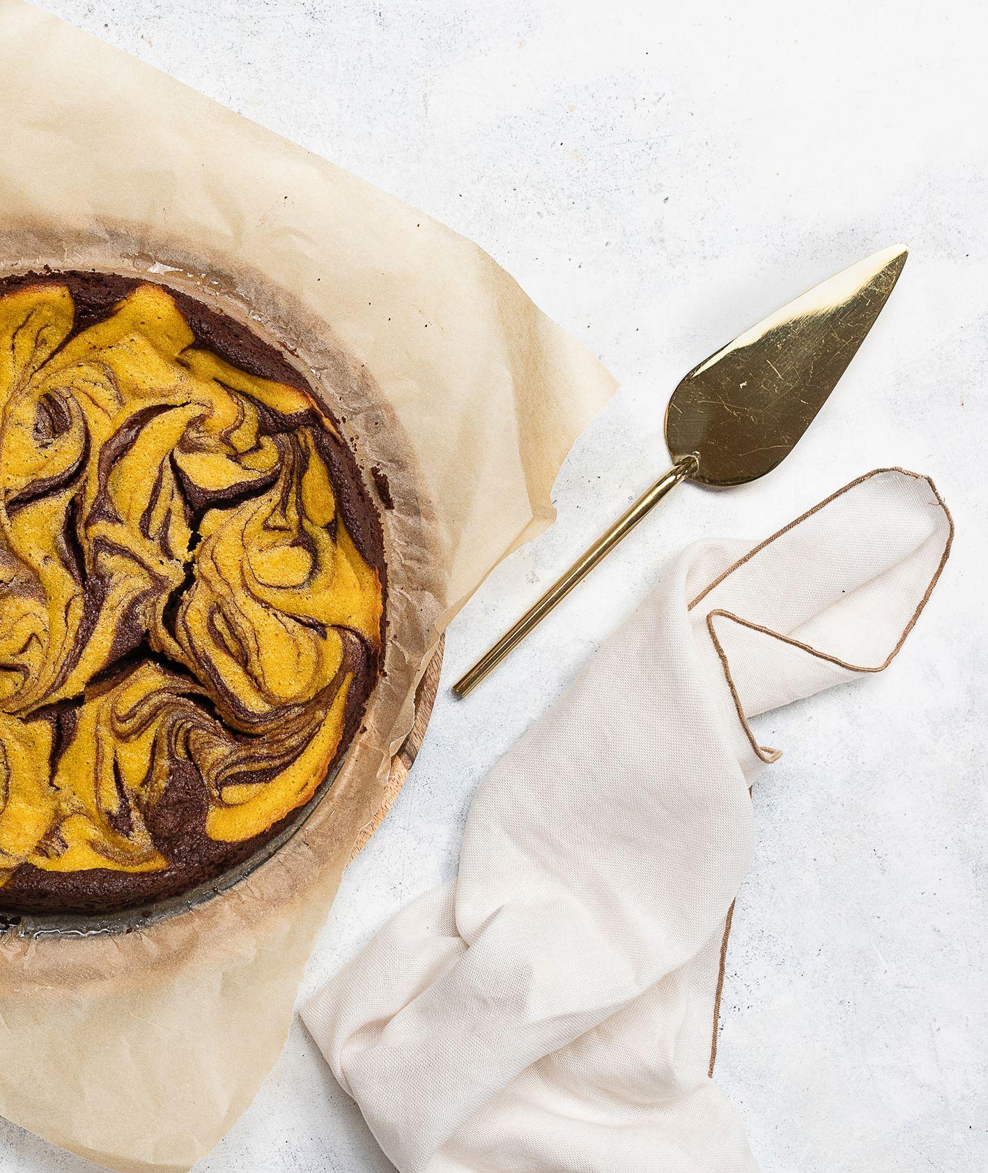 Przepis na dyniowe brownie (fot. Paulina Czyżewska)