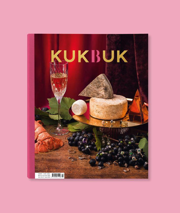 Okładka kwartalnika KUKBUK JESIEŃ 2021