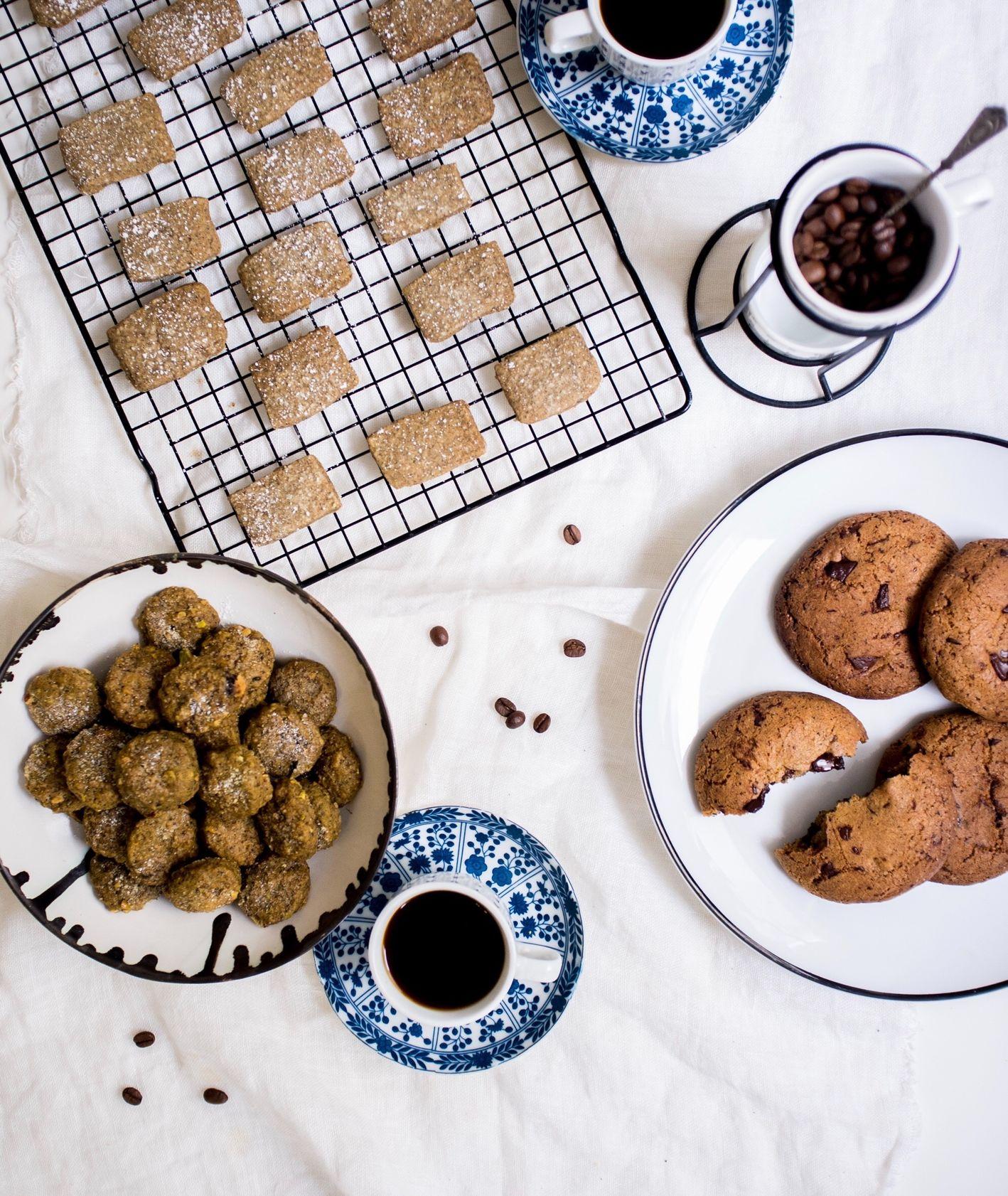 Ciekawe ciasteczka z fusami z kawy (fot. Zuza Rożek)
