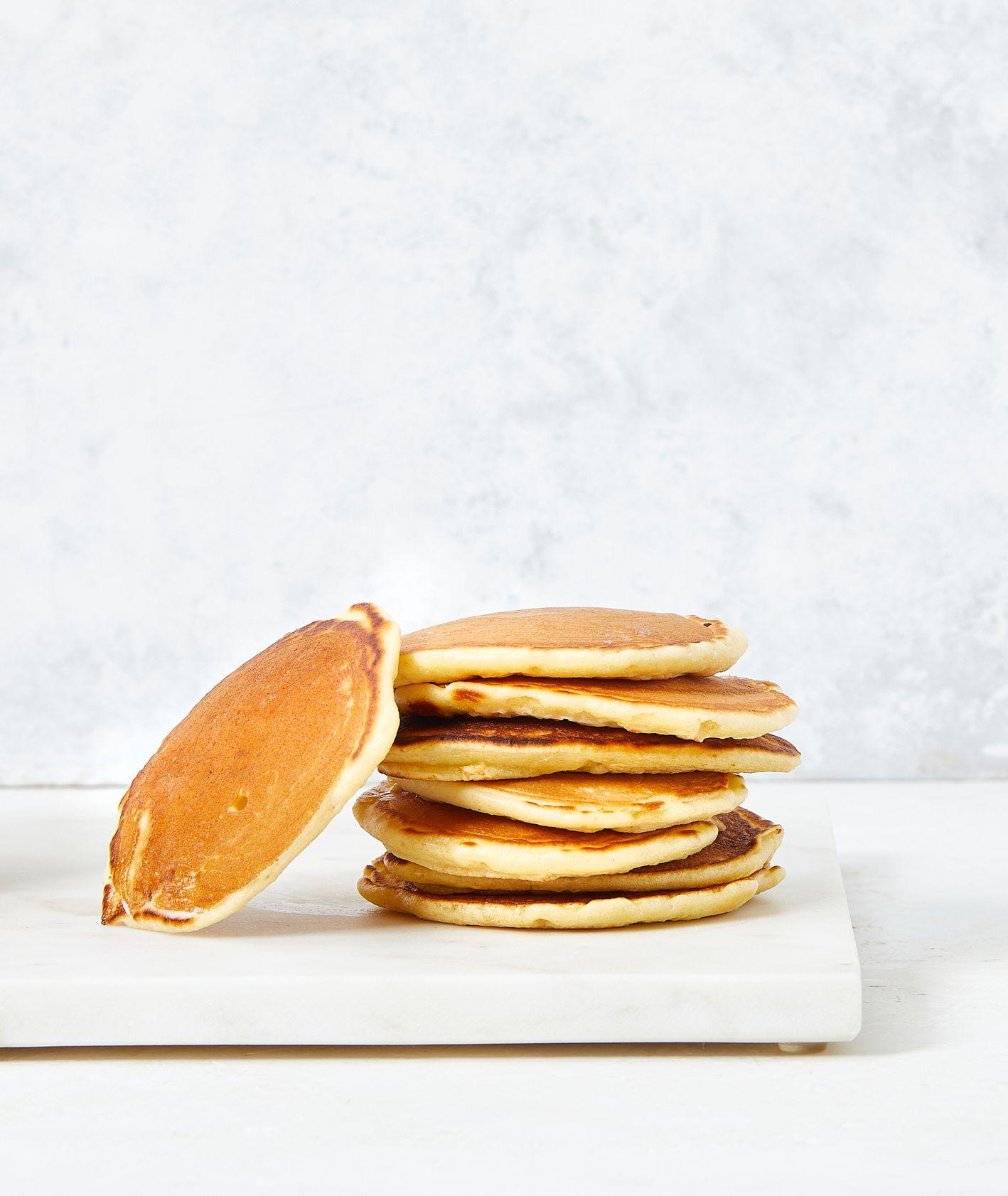 Jak zrobić pankiejki, przepis na amerykańskie naleśniki, pancakes, amerykańskie śniadanie (fot. Maciek Niemojewski)