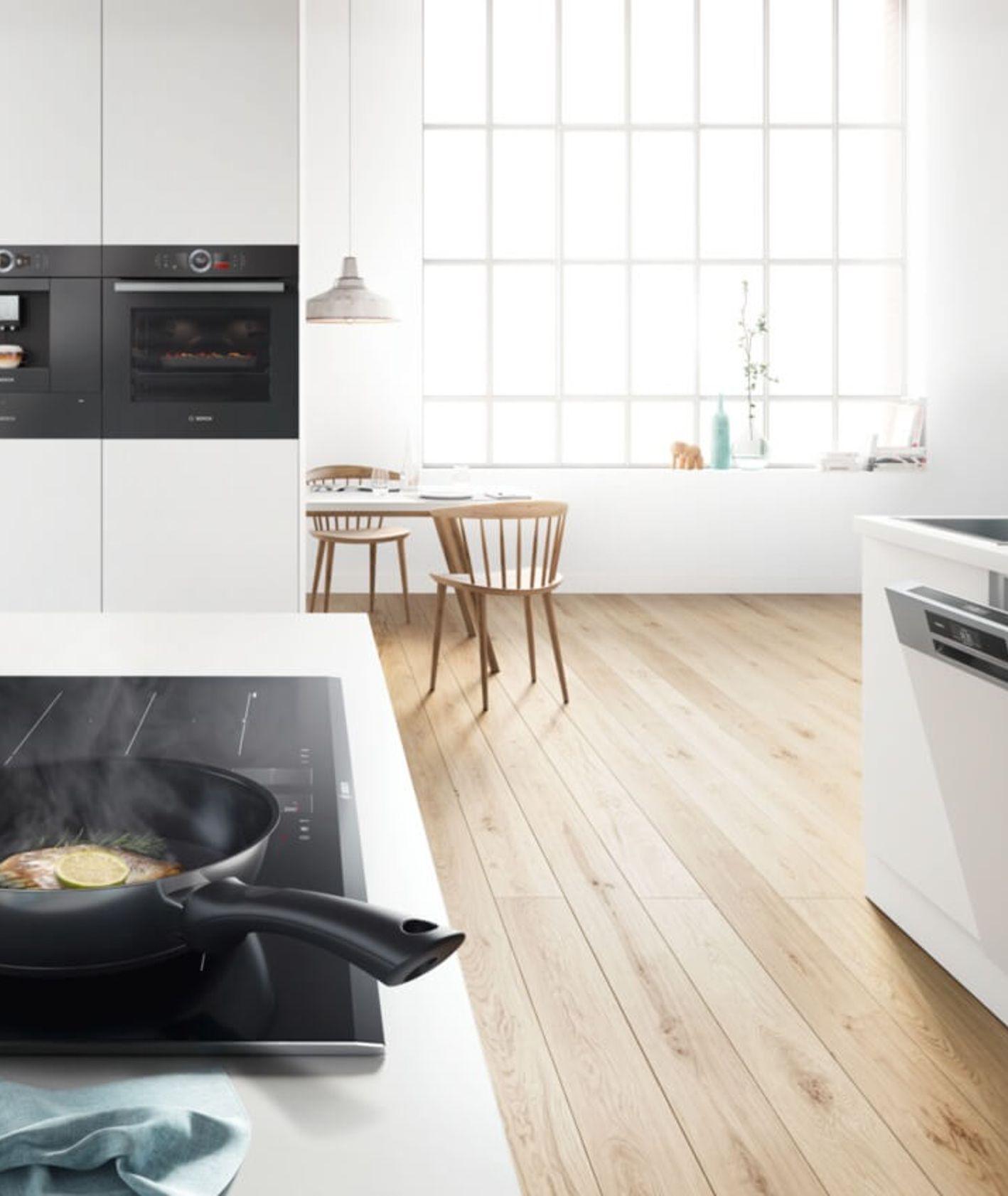 Zmywarka SMV46LX73E marki Bosch w kuchni (fot. materiały prasowe)