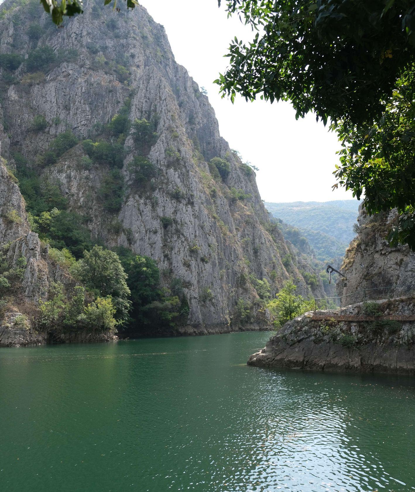 Co warto odwiedzić w Macedonii - Kanion Matka (fot. Kaja Werbanowska)