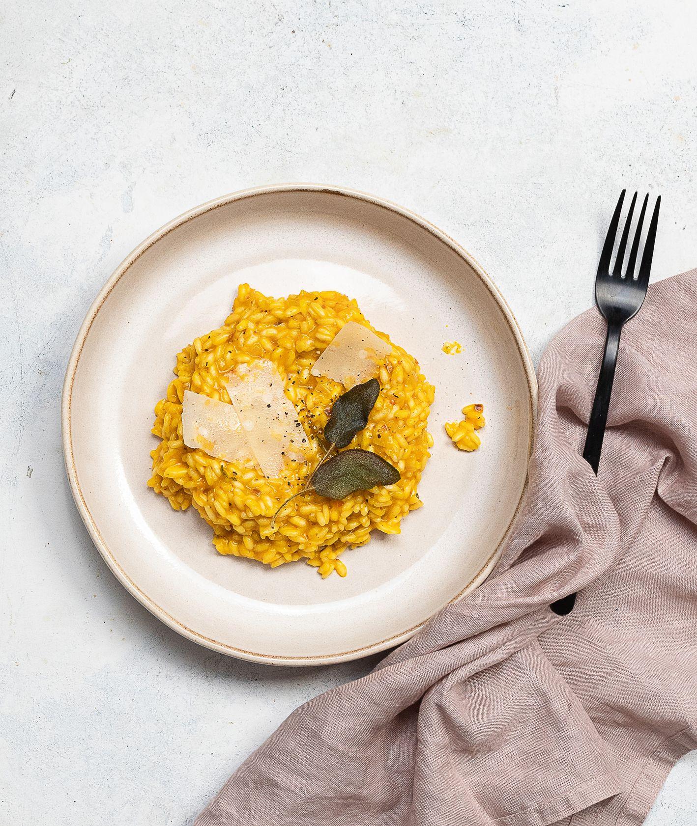 Jak zrobić dyniowe risotto. Przepis na pyszne i proste risotto (fot. Paulina Czyżewska)
