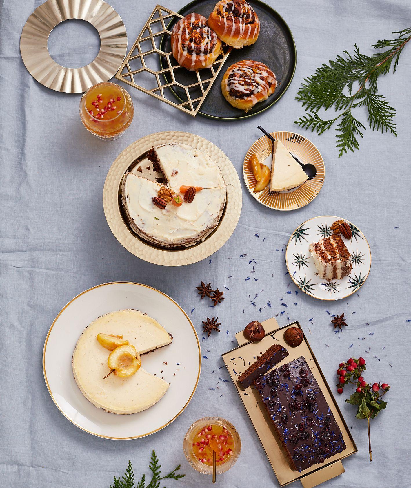 Słodkie wypieki i desery świąteczne (fot. Maciek Niemojewski)