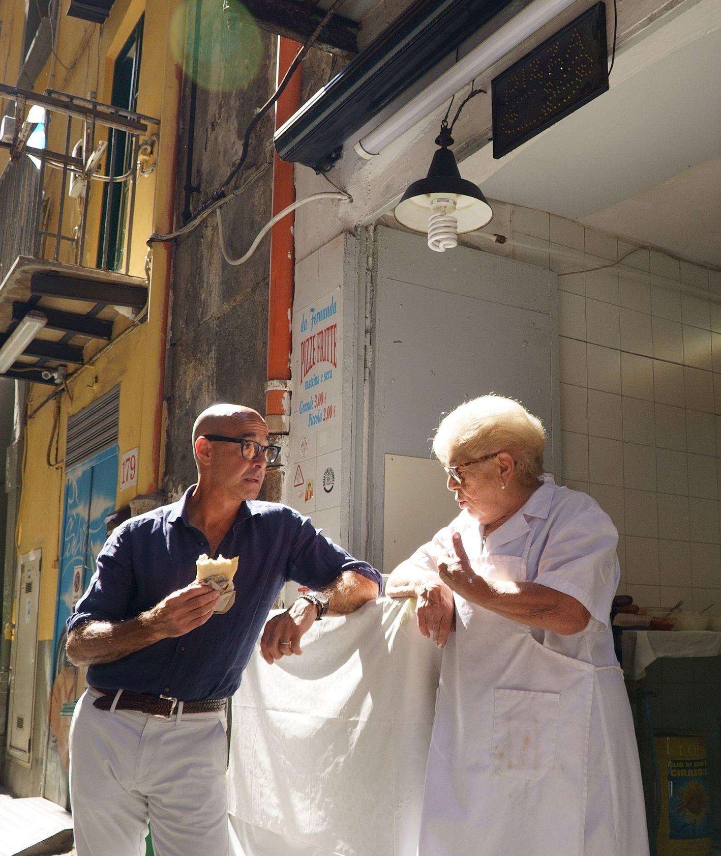 Stanley Tucci w nowym serialu: Stanley Tucci: Searching for Italy (fot. materiały prasowe)