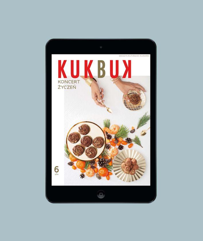 kukbuk - magazyn - wydanie cydrowe na ipad, tablet i w prz4gladarce - Cyfrowy KUKBUK 6 (42/2019) KONCERT ŻYCZEŃ
