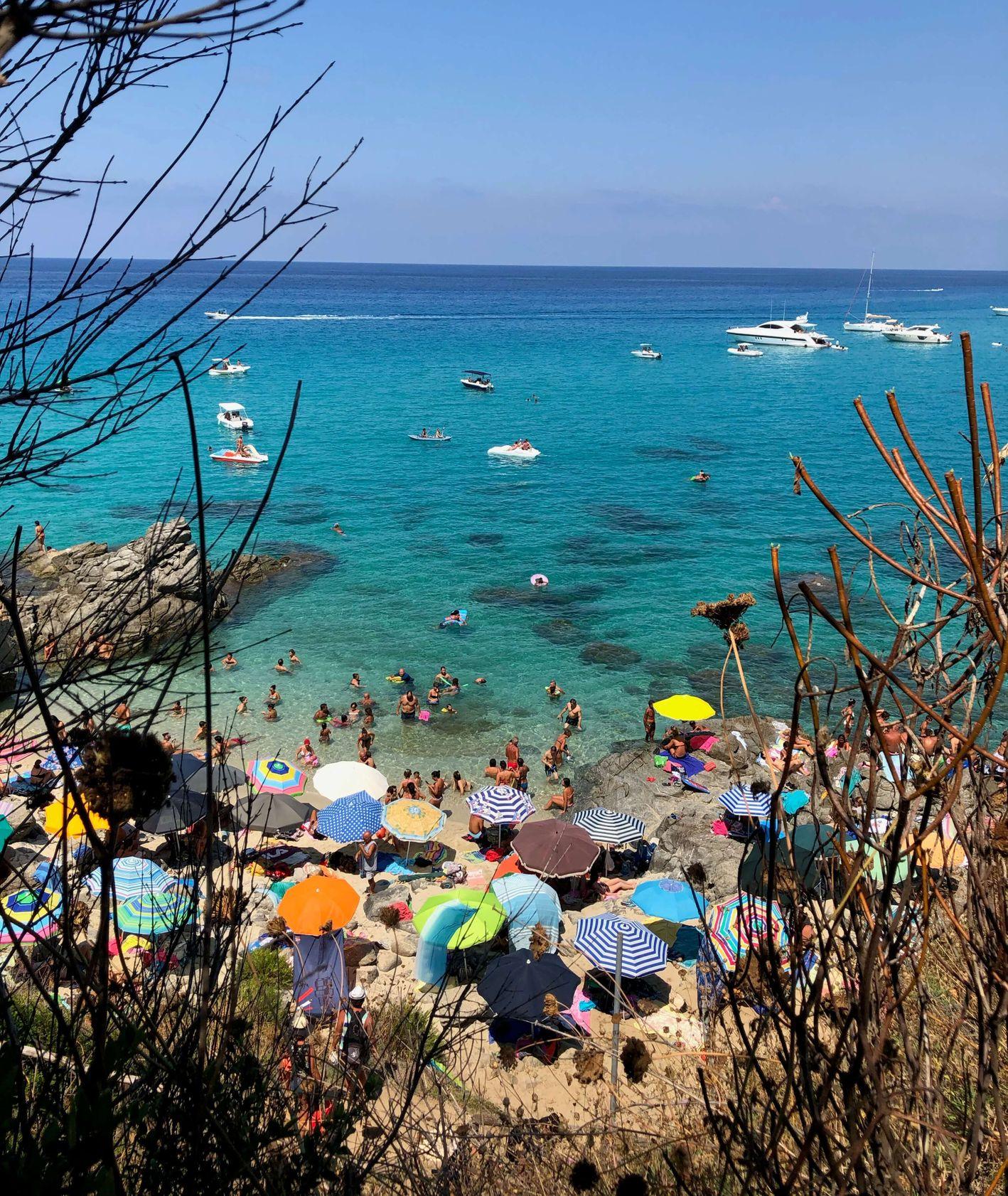 Kalabria, plaża Paradiso del Sub (fot. Olga Maj)