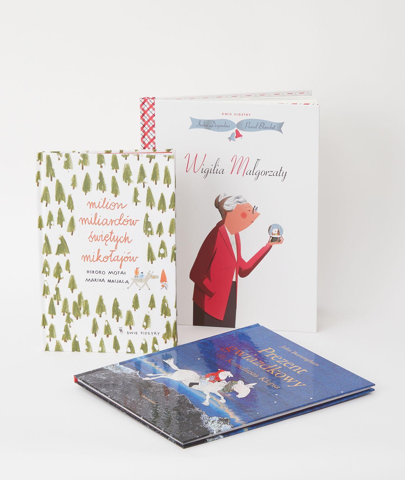 Książki dla dzieci o Bożym Narodzeniu – propozycje wydawnictwa Dwie Siostry (fot. Maciej Niemojewski)