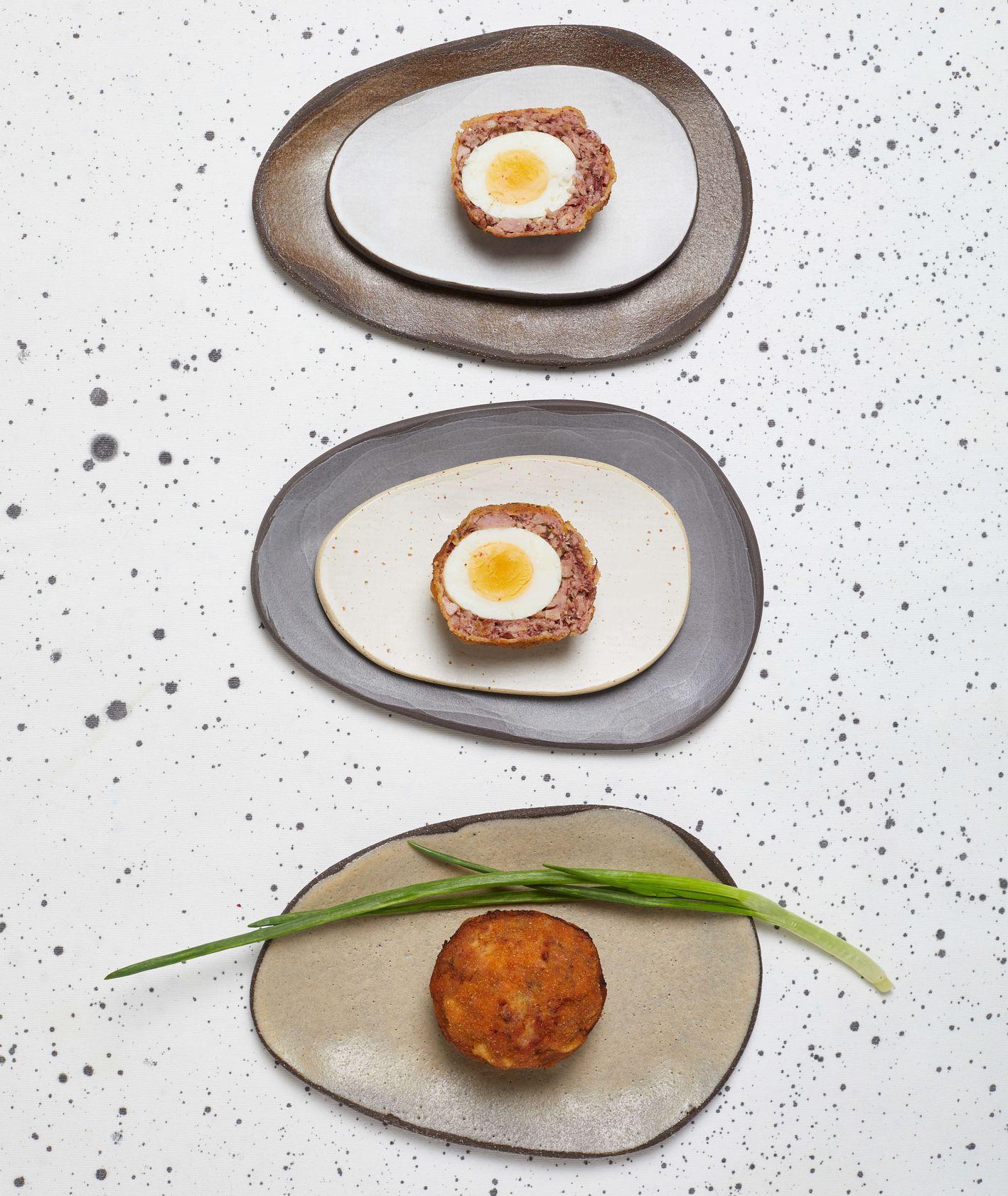 przepis gordon ramsay, wielkanocne jaja w mięsnym cieście