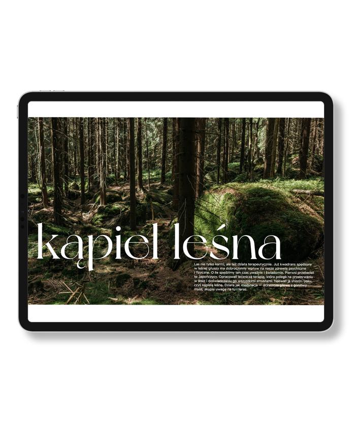 ebook KUKBUK Z LASU – kąpiel leśna. Odpoczynek w lesie