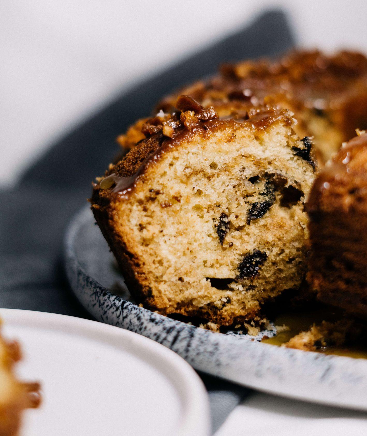 Ciasto z rumem (fot. Jessica Nadziejko)
