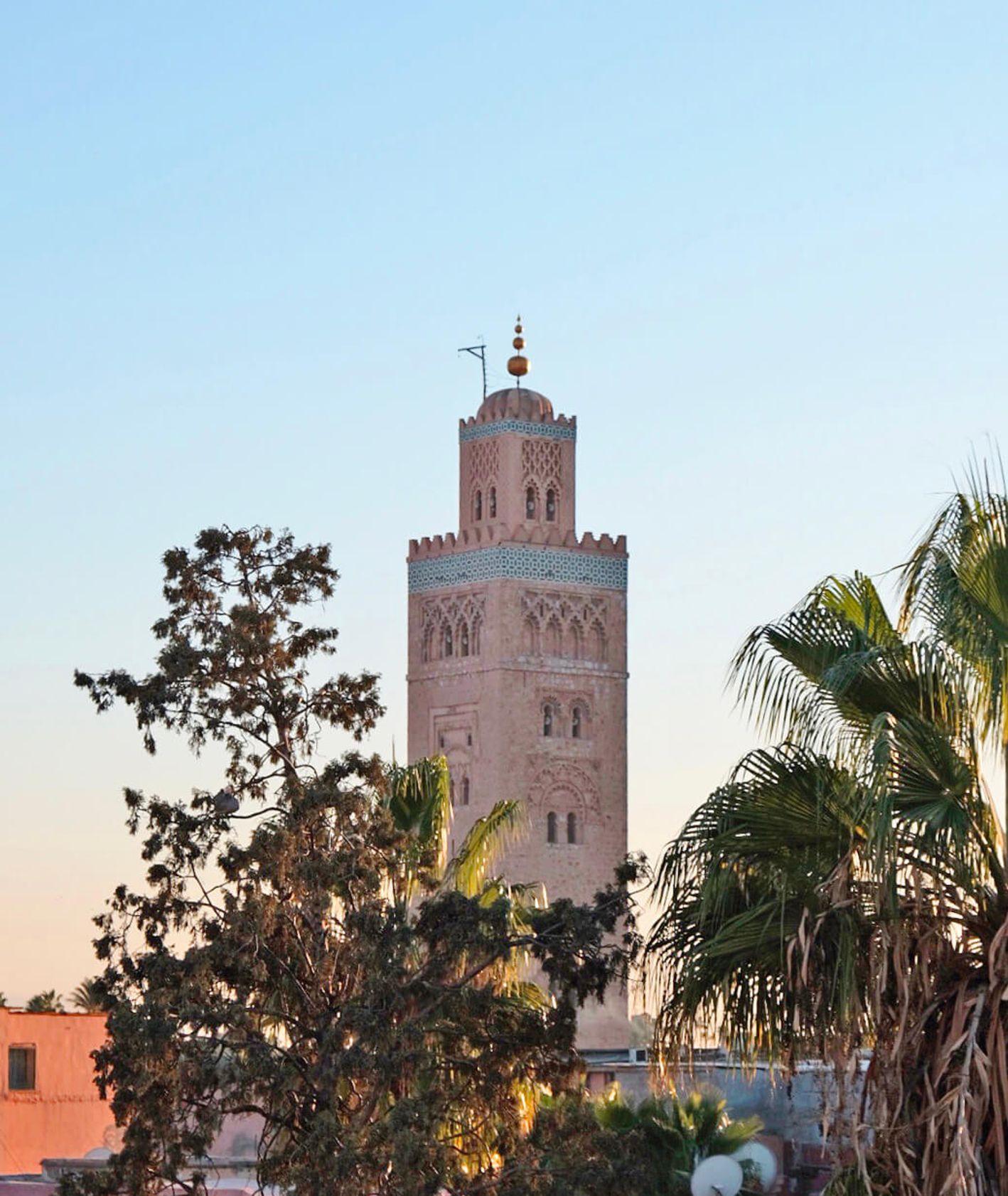 Meczet Księgarzy w Marrakeszu