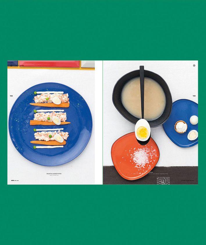 Rozkłady z magazynu KUKBUK 44/2020 Całe szczęście, wielkanocny stół, sałatka jarzynowa, żurek, jajka