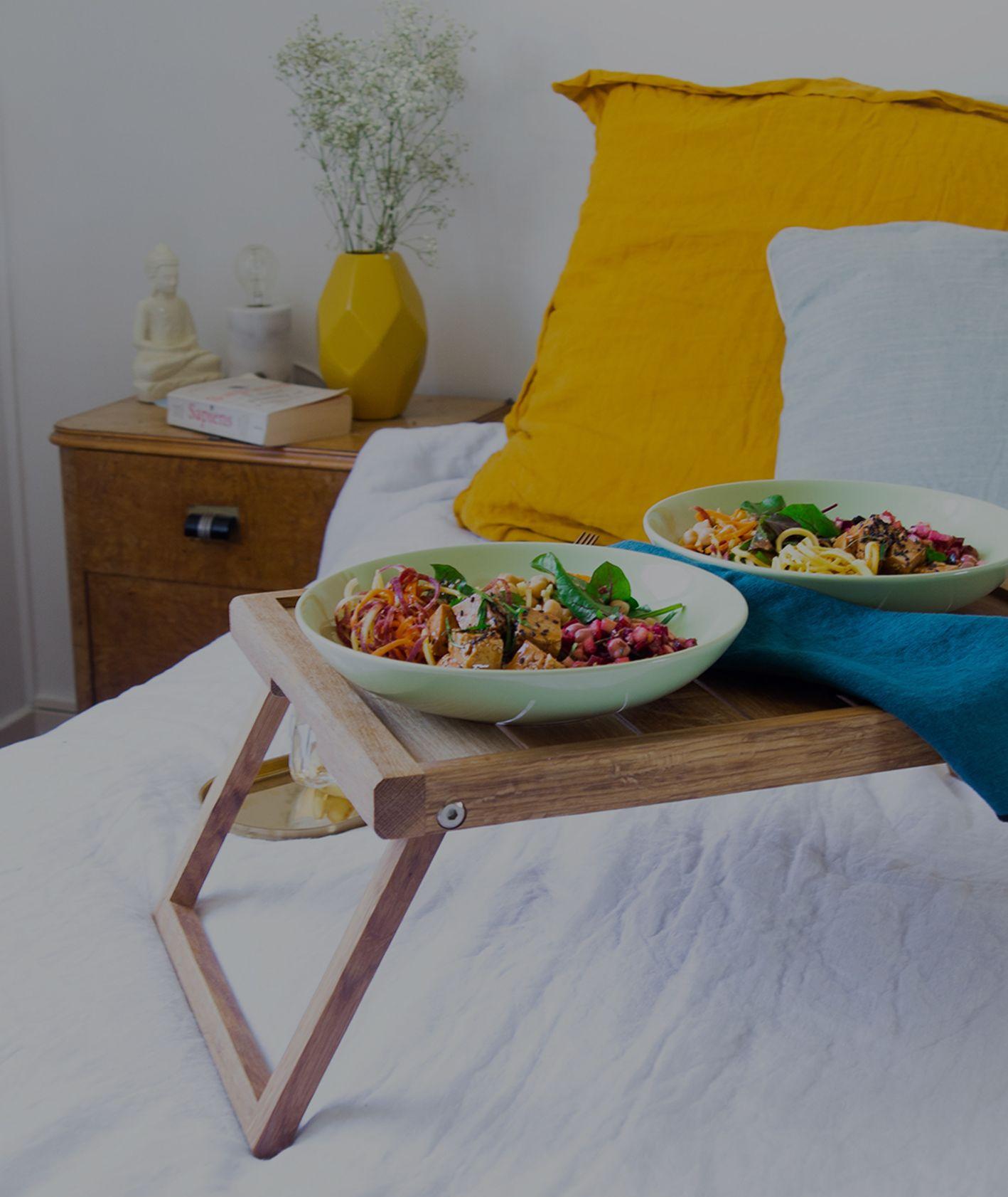 śniadanie w łóżku (fot. Tosca Olivi)