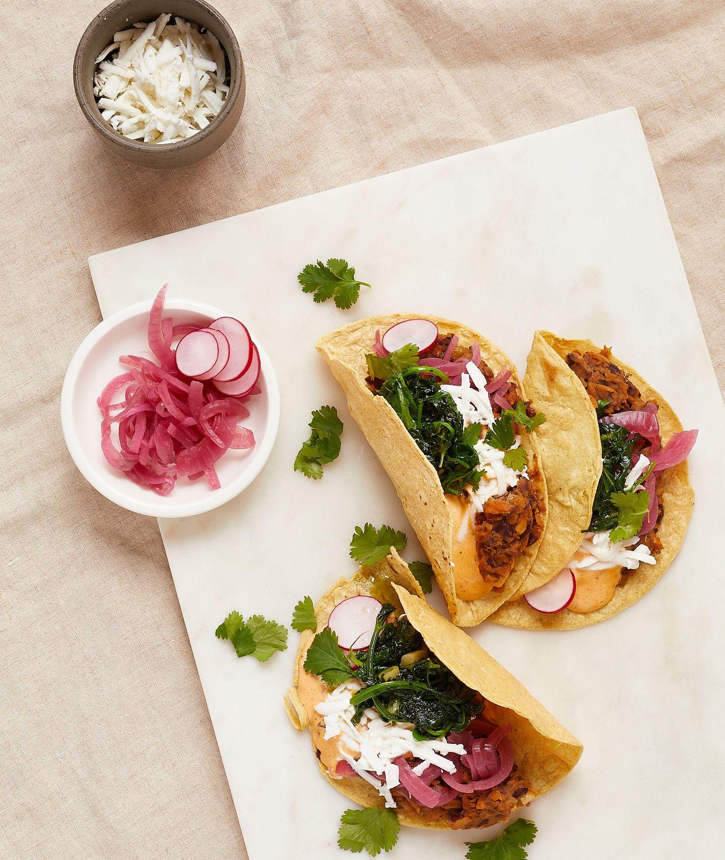 Przepis – tacos zquelites, pomysł na tacos, Targ Kręgliccy (fot. Maciek Niemojewski)