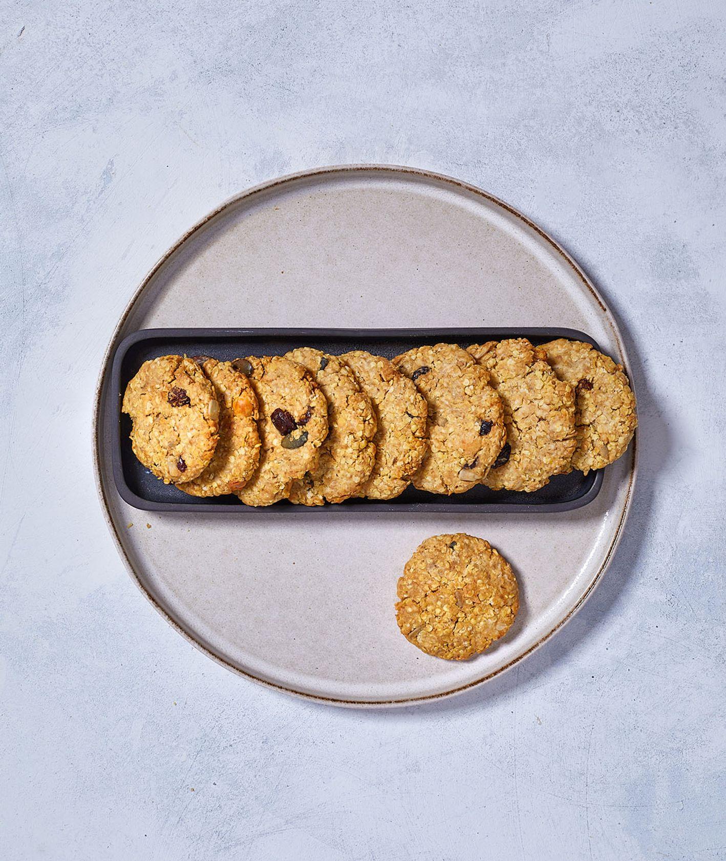 Szybkie w wykonaniu owsiane ciasteczka (fot. Maciek Niemojewski)