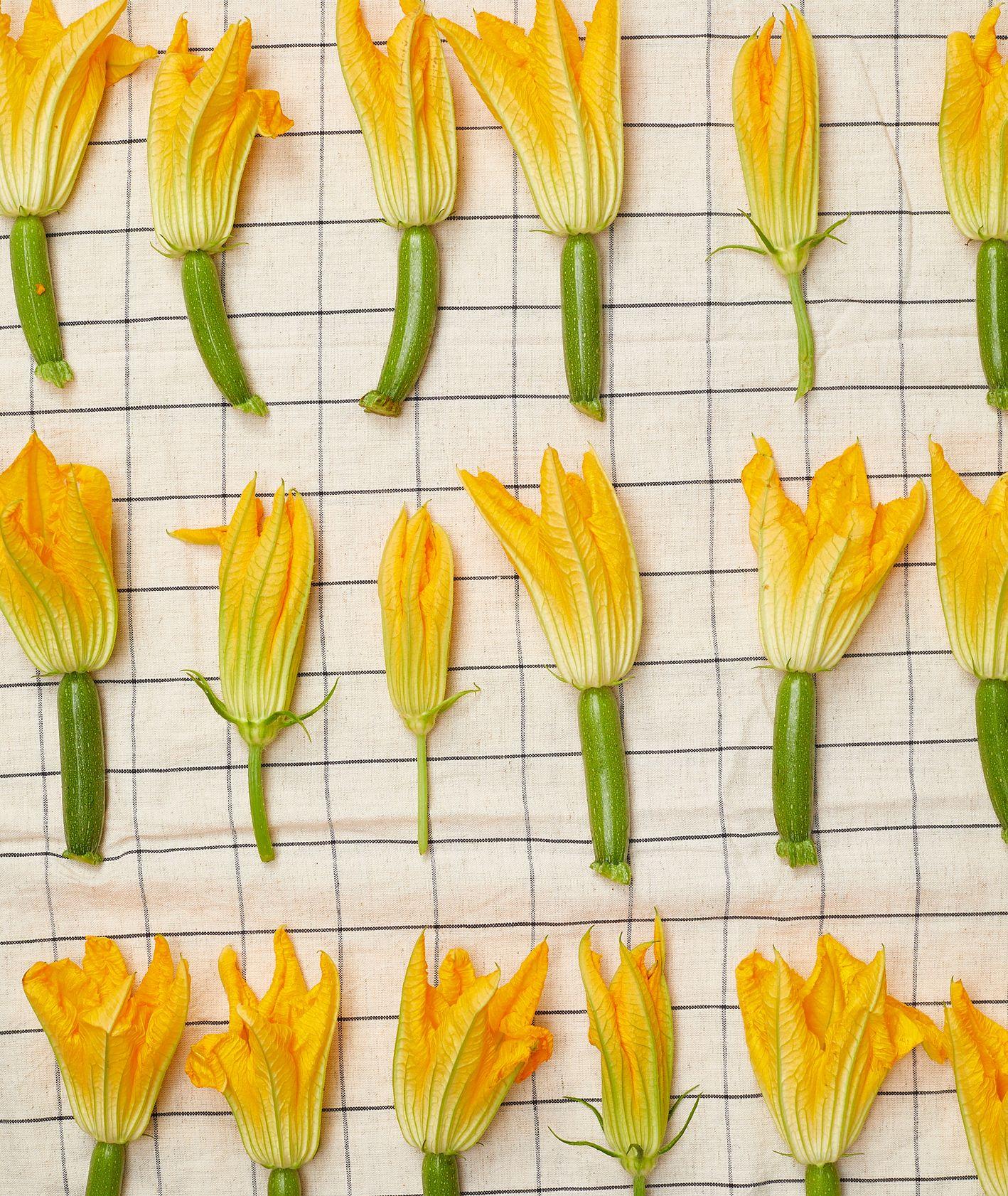 Przepisy na kwiaty cukinii (fot. Maciek Niemojewski)