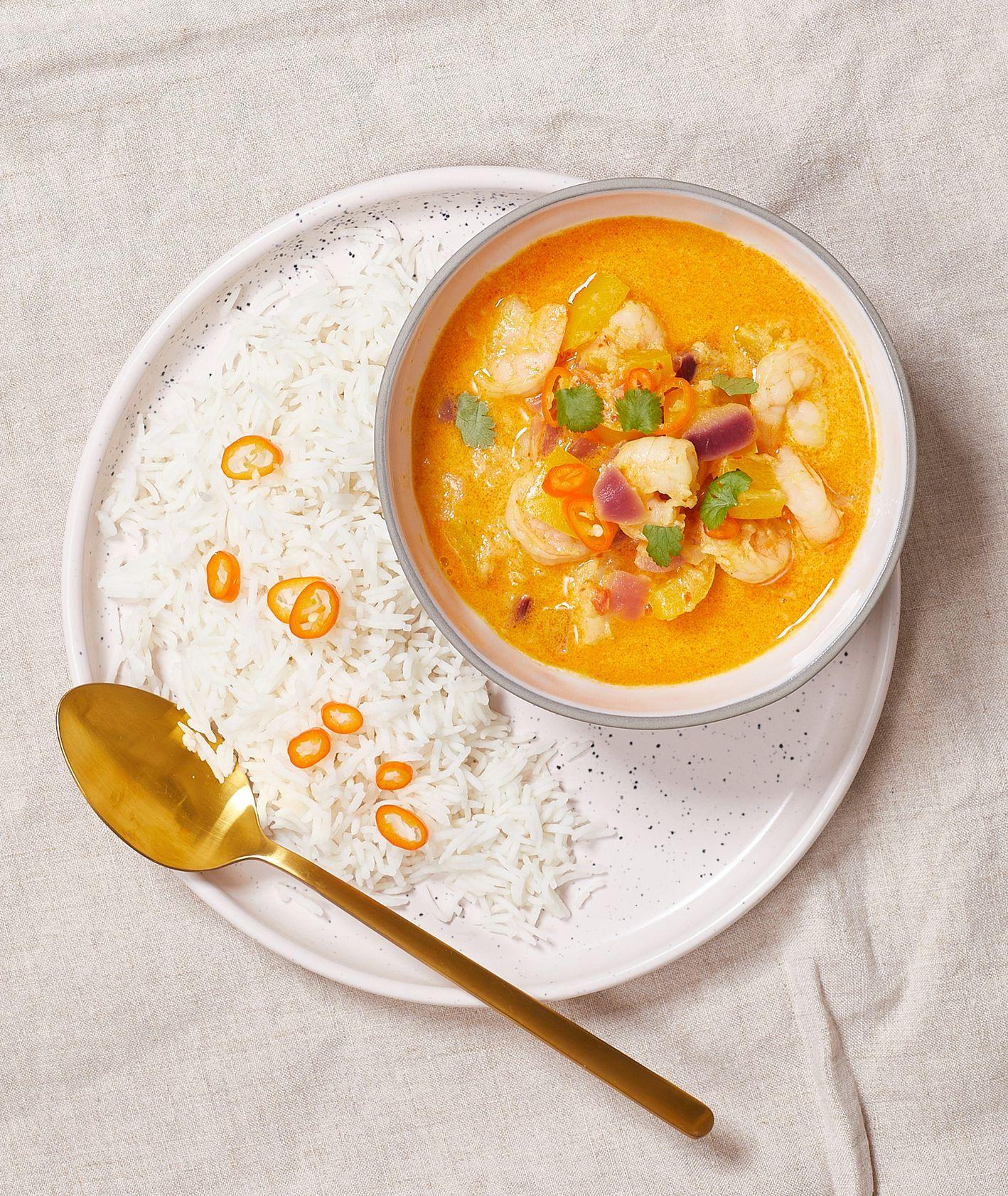 Przepis na domowe curry z krewetkami (fot. Maciek Niemojewski)