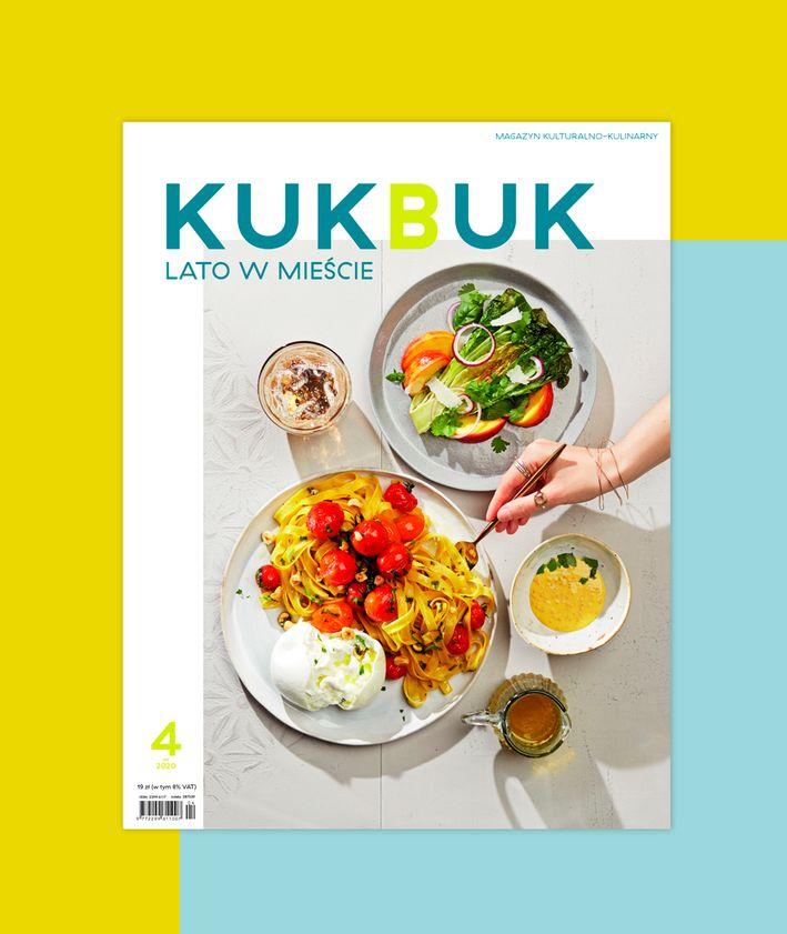 Okładka Magazynu KUKBUK NR 46 LATO W MIEŚCIE