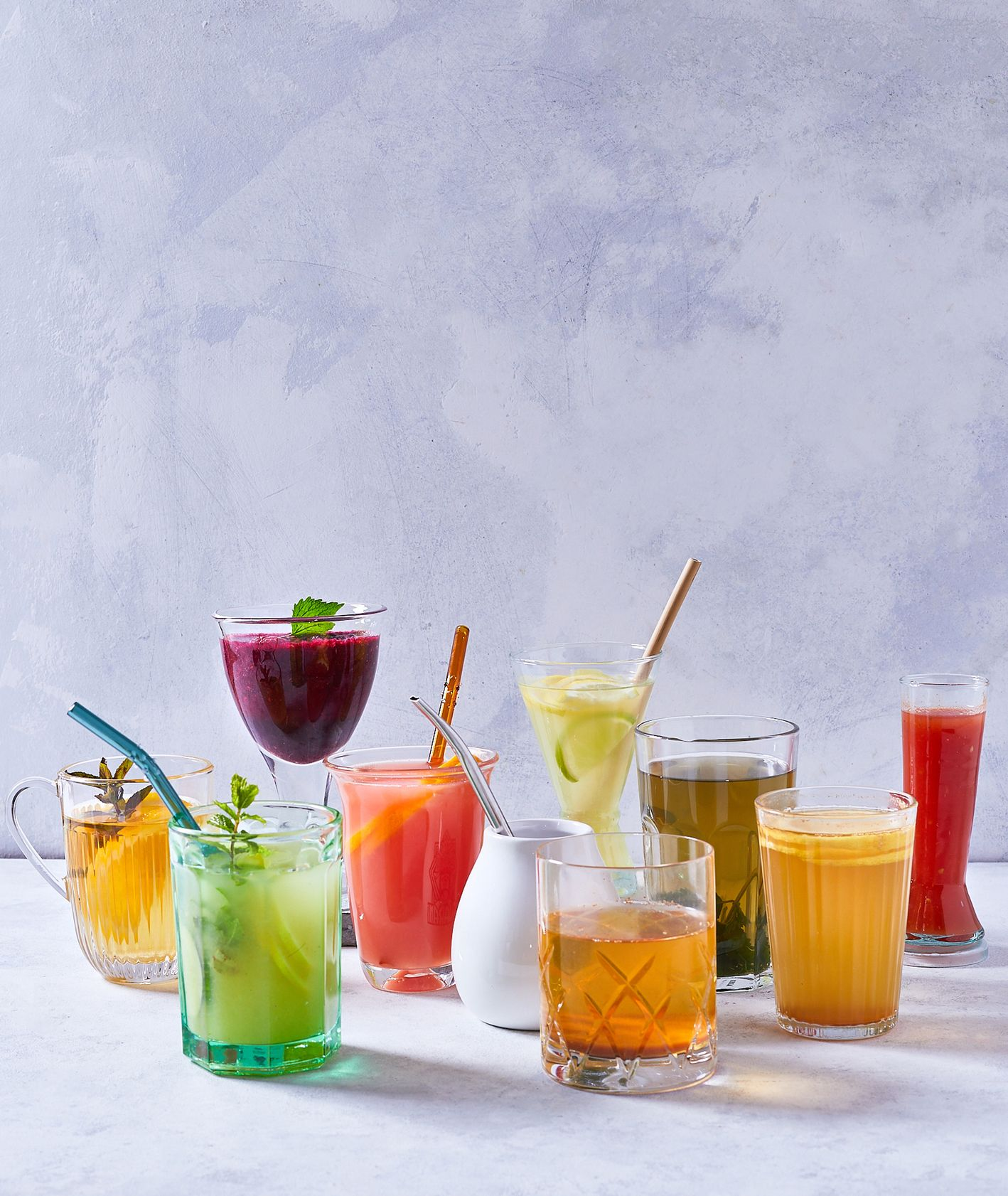 Co pić, by przyspieszyć metabolizm? – Soki i napary ziołowe (fot. Marcin Lewandowski)