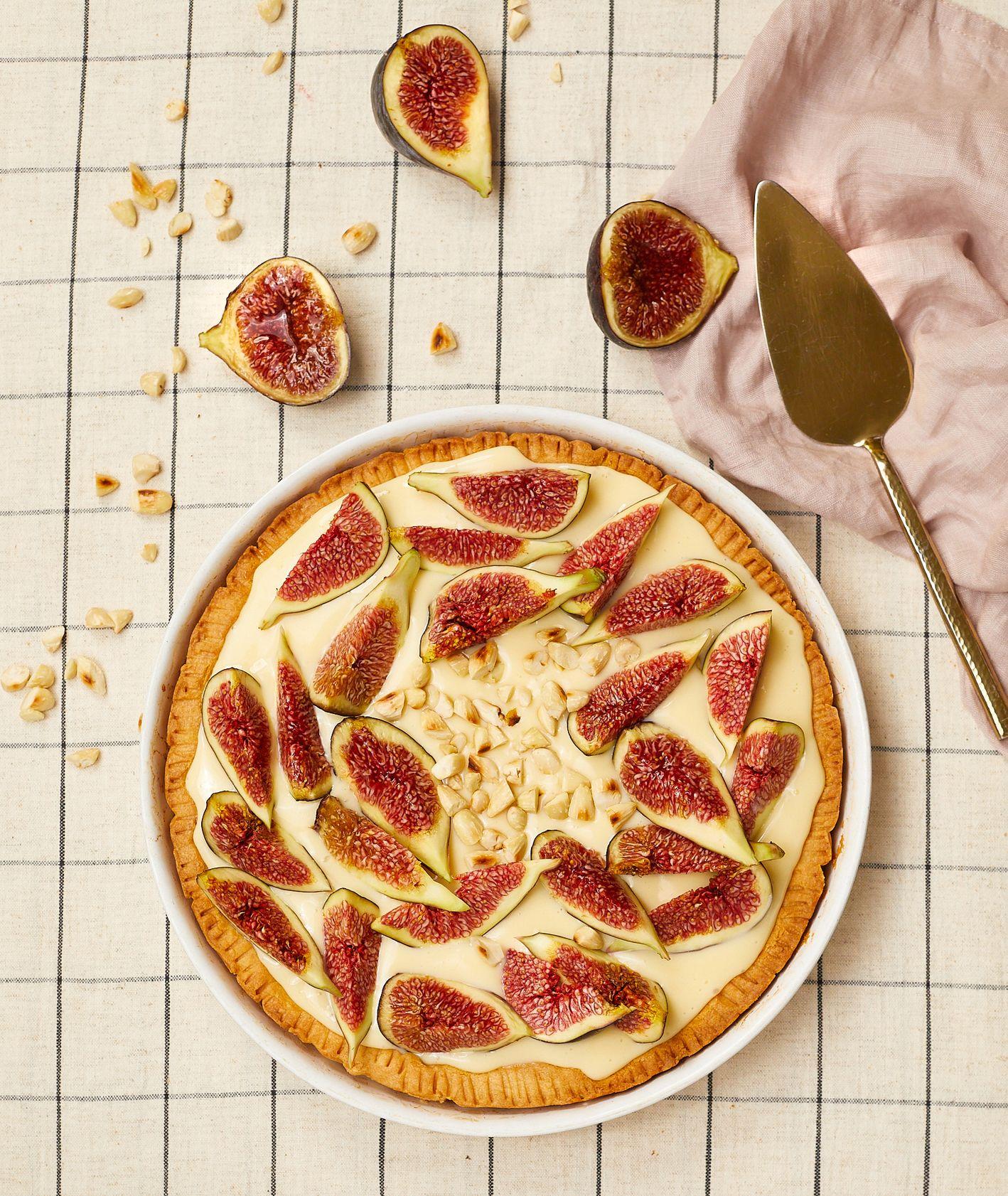 Włoska szkoła gotowania Cristiny Catese – ciasta z owocami. Przepis na świeżą tartę figowa (fot. Maciej Niemojewski)