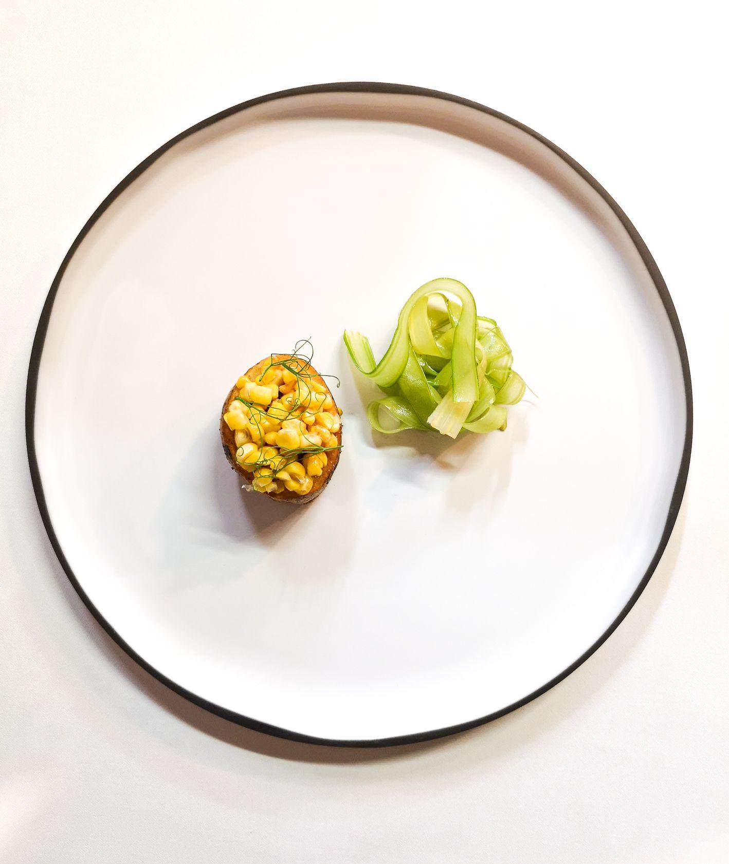 Danie z restauracji Albertina, podczas 9 edycji Fine Dining Week (fot. Bartek Kieżun)