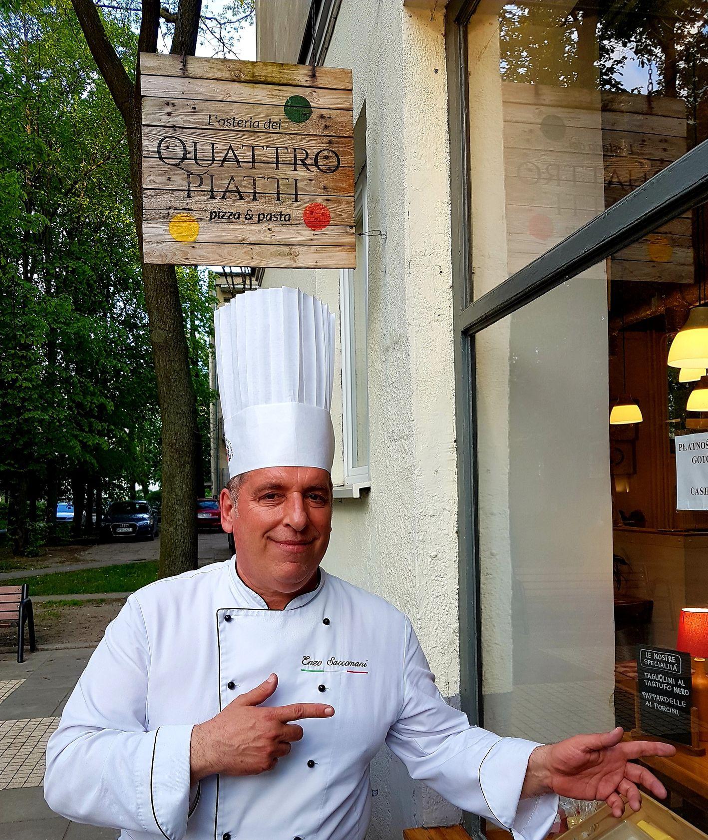 Restauracja Quattro Piatti, włoska kuchnia na Mokotowie, gdzie zjeść w Warszawie (fot. materiały prasowe)