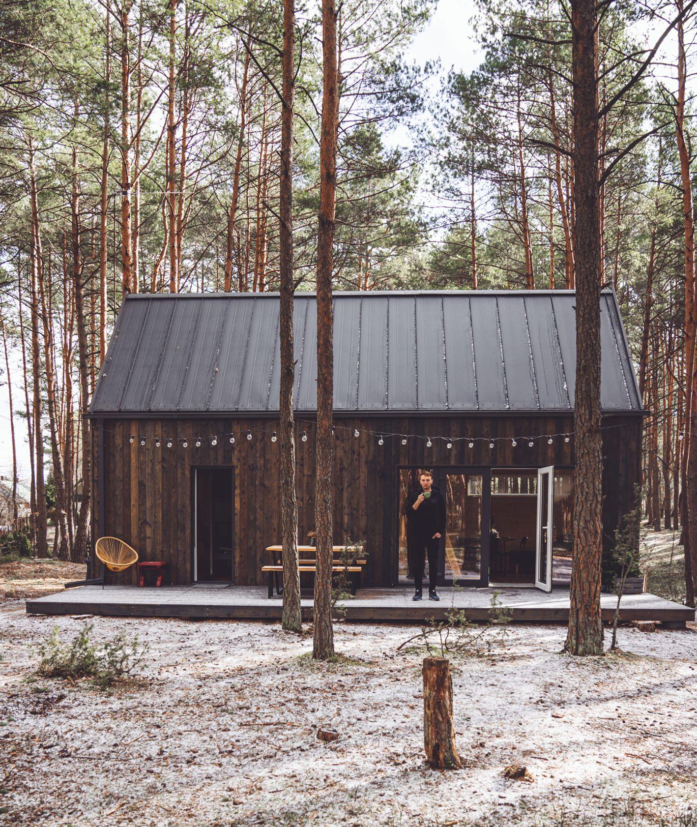 House for Rest, Slow Polska, domek w lesie, wakacje w środku lasu, z dala od miasta (fot. Slow Polska)