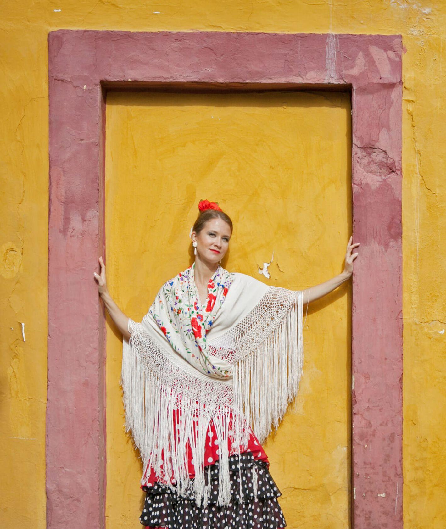 Emilia, tancerka flamenco w Sewilli (fot. Julia Zabrodzka)