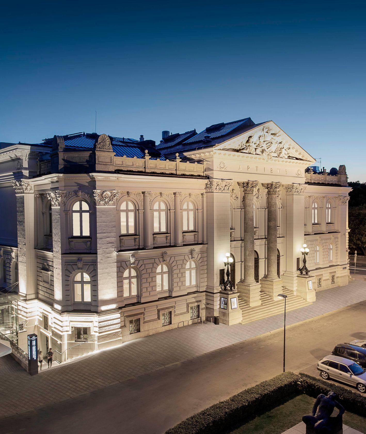 Budynek Galerii Zachęta (fot. materiały prasowe)