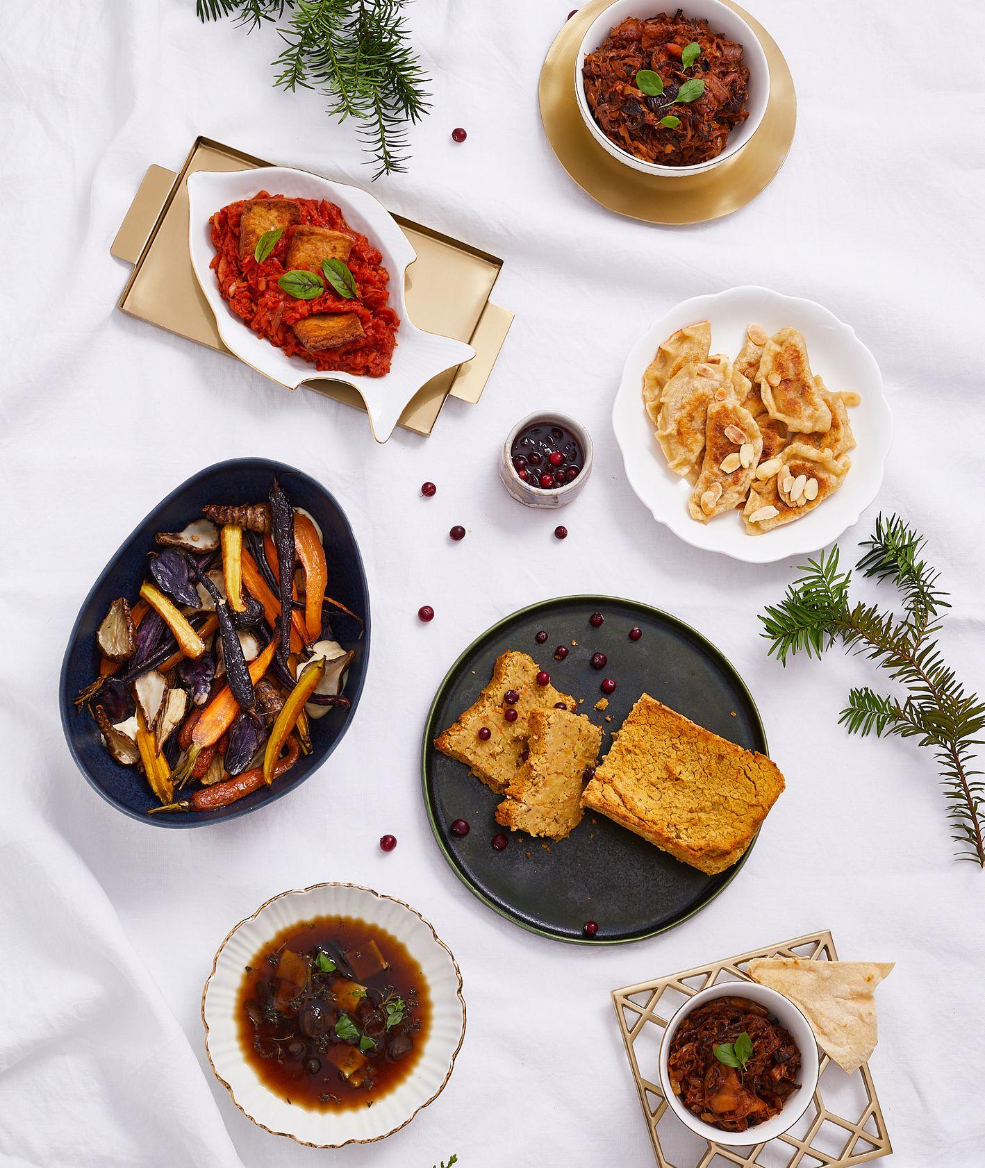 Pomysły na wegańską kolację wigilijną (fot. Maciek Niemojewski)
