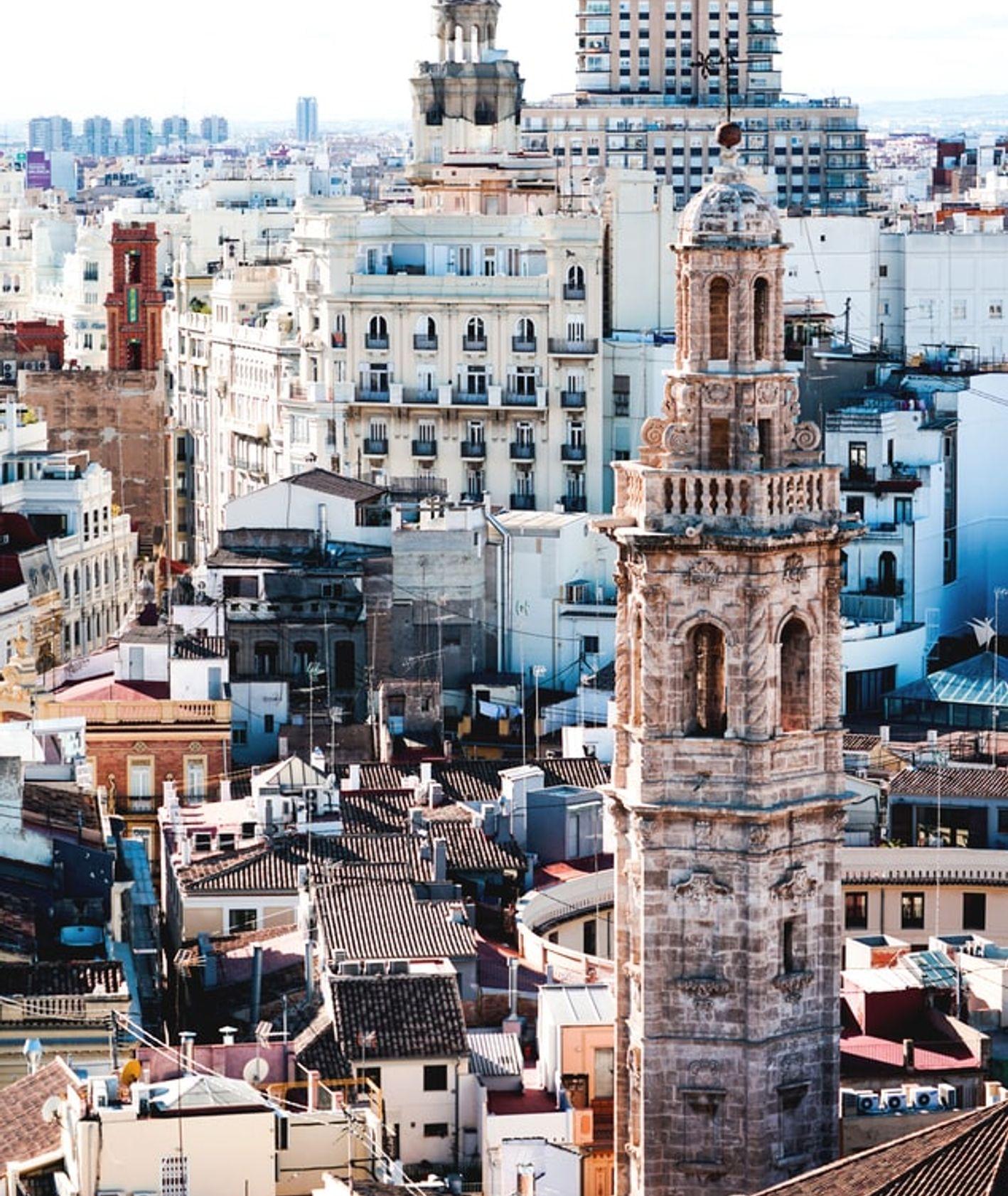 Walencja, widok miasta